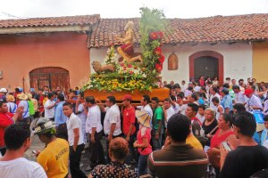 Procession for San Jerónimo